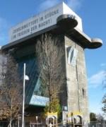 The flak tower at Esterhazypark, now an aquarium