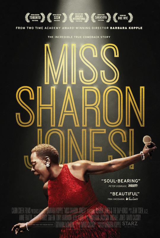 miss sharon jones