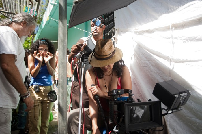 Marisol Gomez-Mouakad directing Angélica