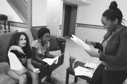 A script read with the cast of Best Friends