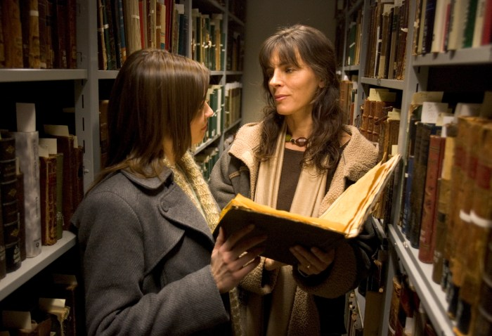 Christine Ryndak and Mira Furlan in Surviving Me: The 9 Circles of Sophie