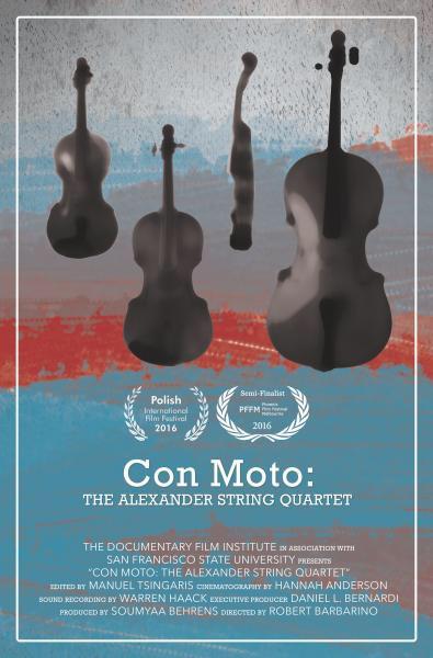 Con Moto: The Alexander String Quartet poster