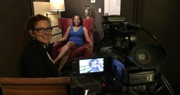 Cady McClain with Deborah Riley Draper