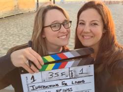 BTS on the set of Instructions for Living