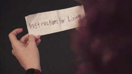 Still image from Instructions For Living