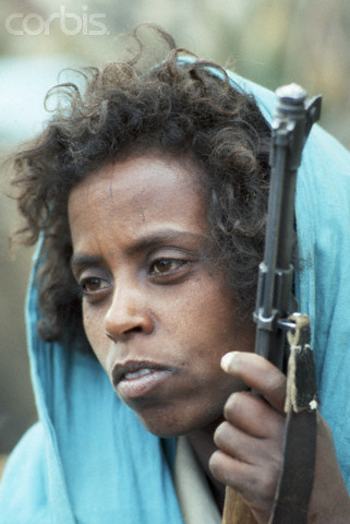 1978, Massaoua, Eritrea --- EPLF Guerilla, Eritrea --- Image by © Françoise Demulder/Corbis