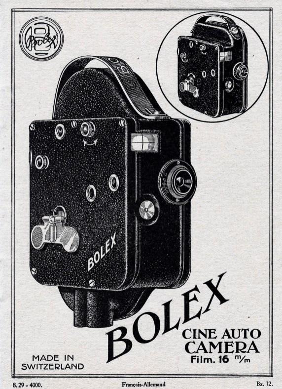 Bolex Camera Ad