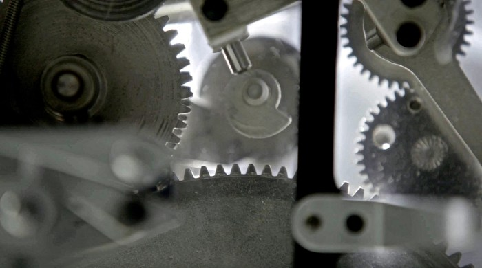 Transparent Bolex Gears