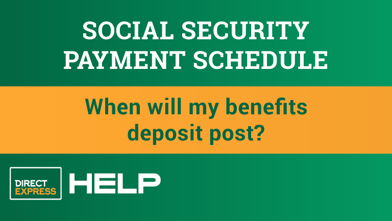"""""""Social Security Payment Schedule"""""""