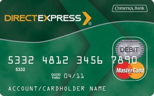 """Direct Express Comerica Bank"""