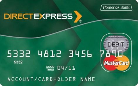 """Direct Express Direct Deposit"""