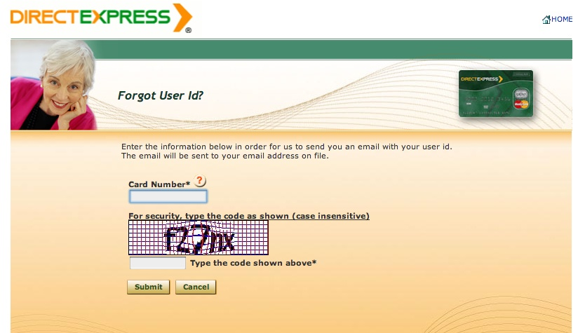"""Direct Express Login Help"""