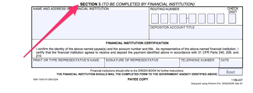 Social Security Direct Deposit Form - Direct Express Card Help