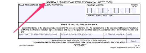 """""""Social Security Direct Deposit Form Instructions"""""""