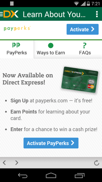 """Direct Express Android App''"