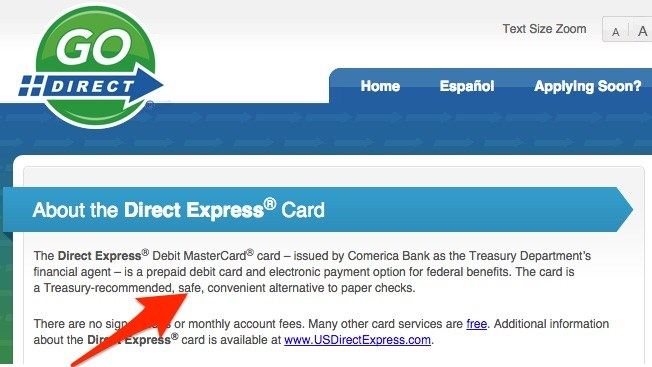 social security direct express debit card facts  direct
