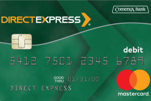 """New Direct Express Card With Chip"""