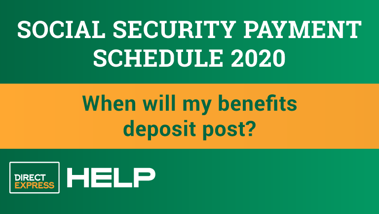 """""""The 2020 Social Security Payment Schedule"""""""
