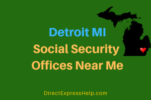 Detroit MI Social Security Offices Near Me