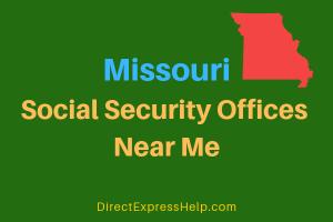 Missouri Social Security Offices Near Me