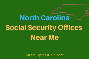 North Carolina Social Security Offices Near Me