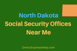 North Dakota Social Security Offices Near Me