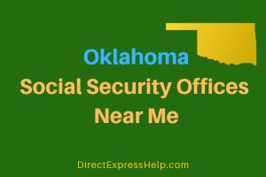 Oklahoma Social Security Offices Near Me