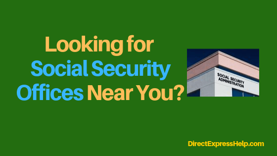 """Maryland Social Security Office Locations"""