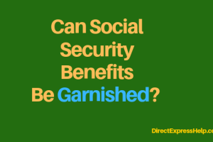 """""""is social security benefits exempt from garnishment"""""""