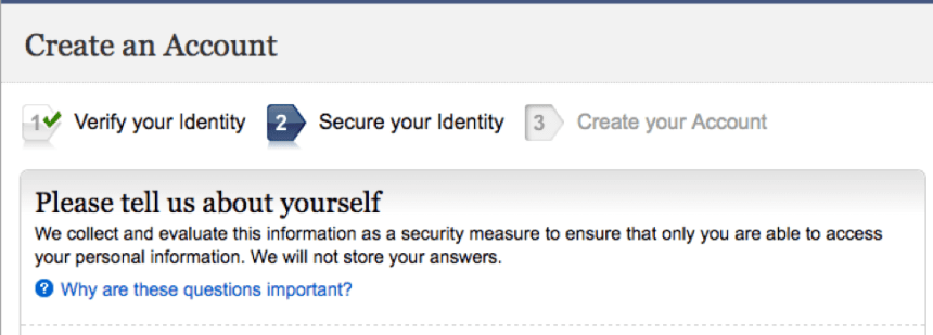 """Create a my Social Security Account - 2"""