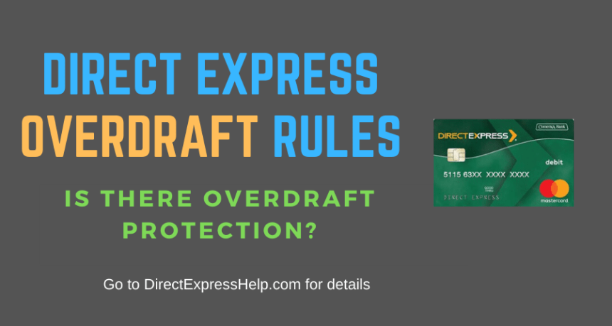 """Direct Express Account Overdraft Rules"""