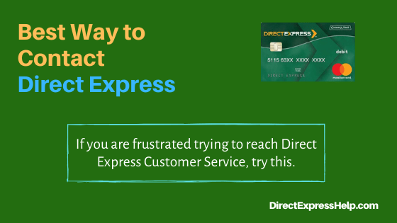 """The Best Way to Contact Direct Express"""