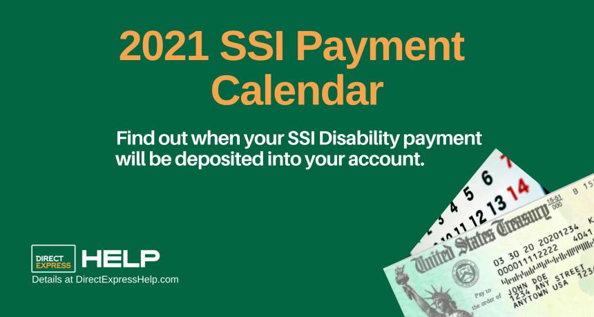 """2021 SSI Payments Calendar"""