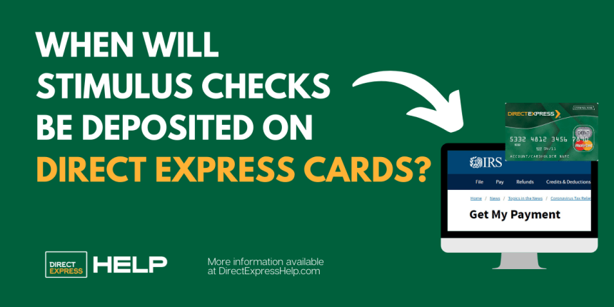 """""""Will stimulus checks be deposited on Direct Express card"""""""
