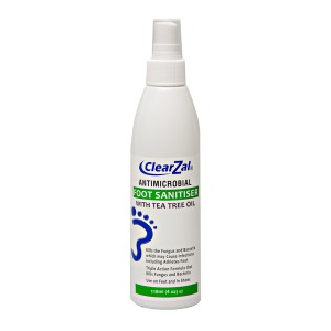 Clearzal Antimicrobial Foot Sanitiser