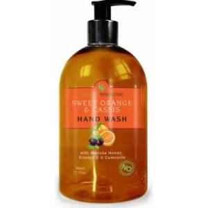 Natures Response Orange and Cassis Hand Wash 500ml