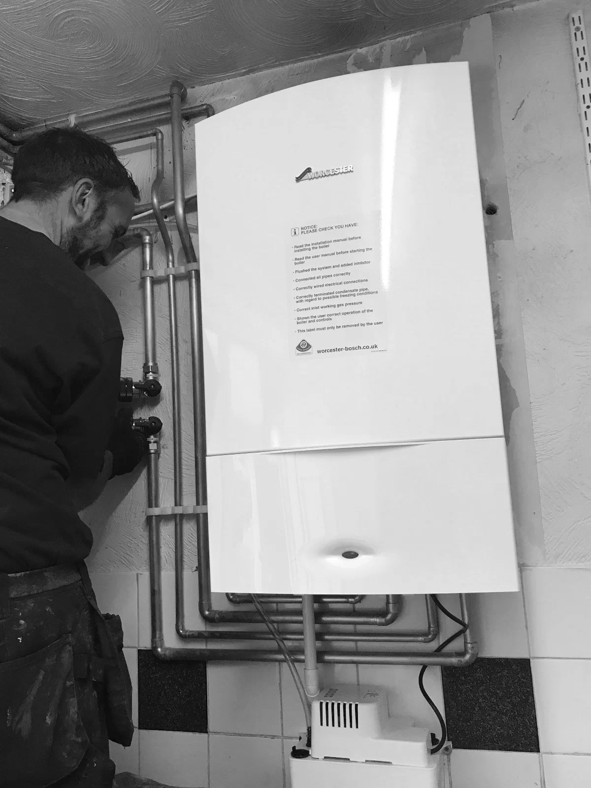 How to find your Worcester Accredited Installer