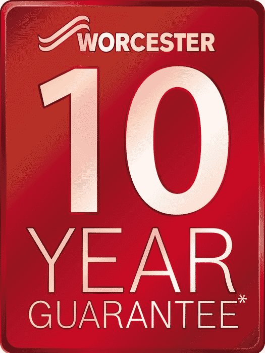 Enjoy warranties of up to 10 years when you use a Worcester Bosch Accredited Installer
