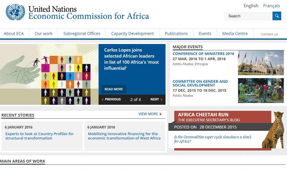 ECONOMIC COMMISSION FOR AFRICA (ECA)