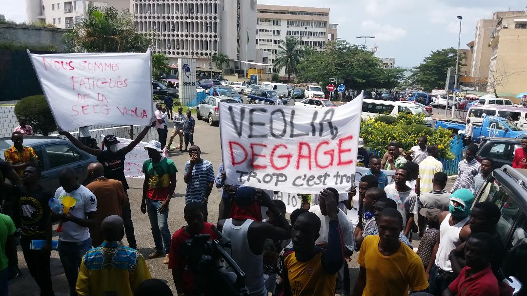 BREF-Veolia demande au Gabon de