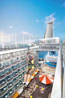 Oasis Of The Seas Royal Caribbean Cruise Ship