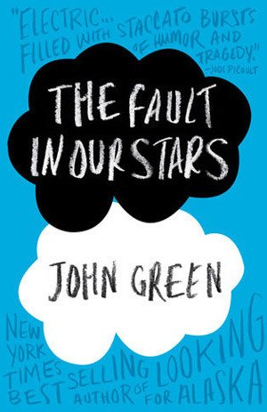 My Weekend Reads - The Fault in our Stars Book Cover