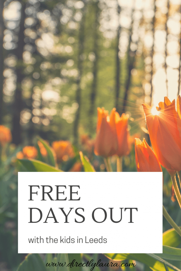 Pin Free Days Out with kids in Leeds