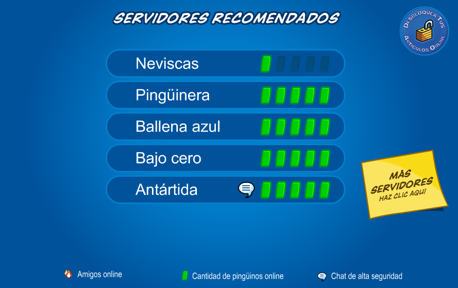 Códigos de Club Penguin (1/3)