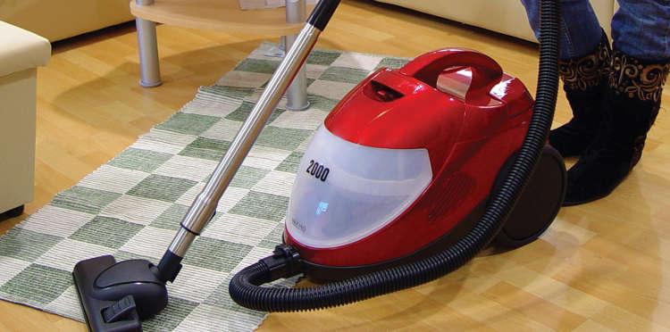 El aspirador puede agravar las alergias y propagar enfermedades