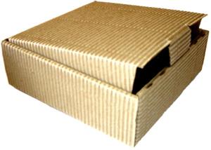 Las cajas de cartón corrugado
