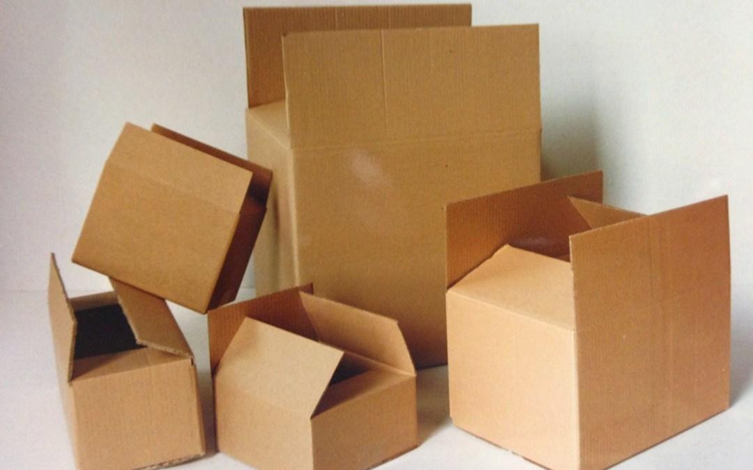 Maneras de hacer cajas de cartón
