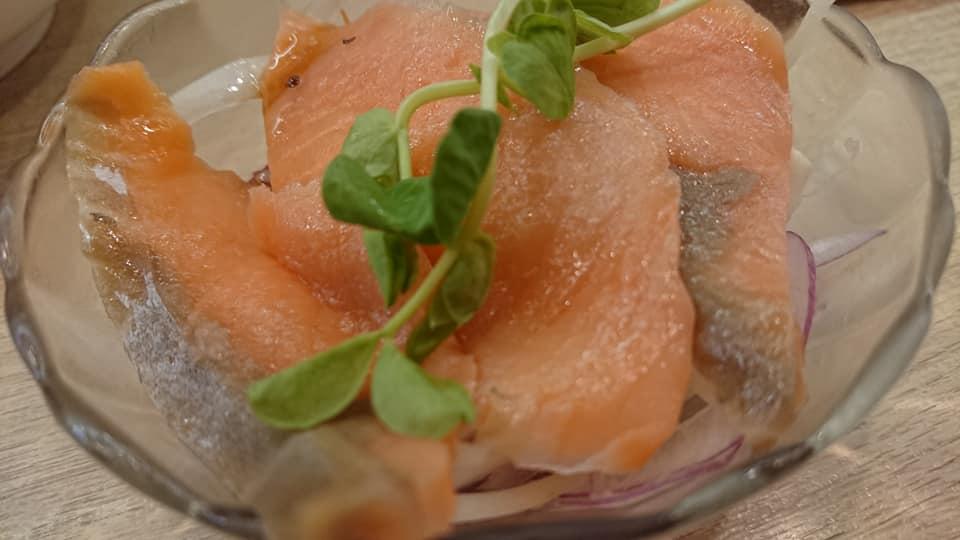 彌味壽司-煙燻鮭魚