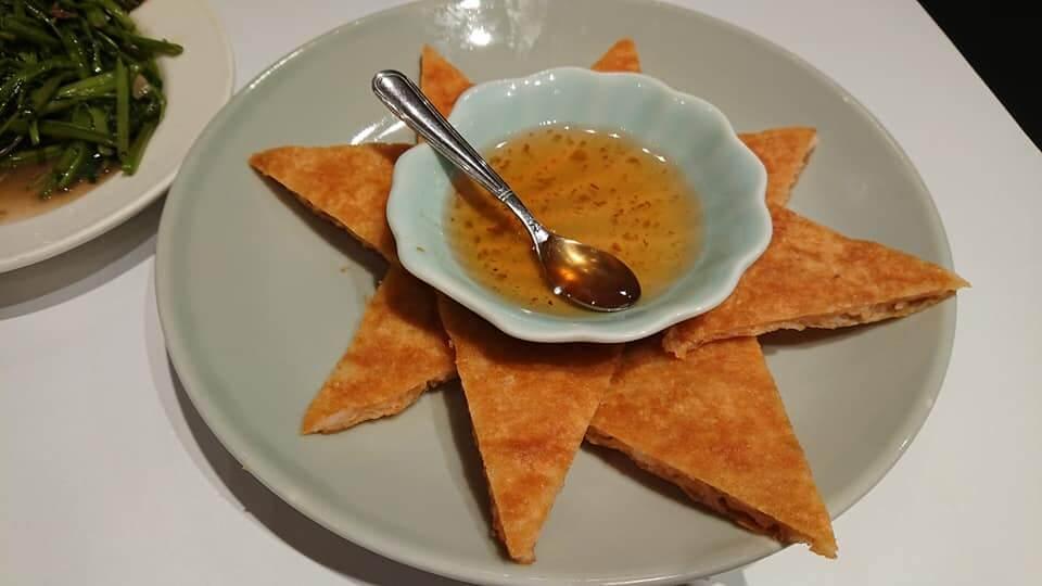 瓦城泰國料理-原味蝦餅