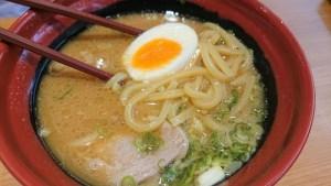 くら寿司-7種魚介濃厚味噌拉麵